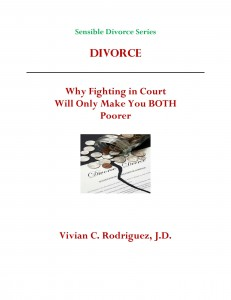 Divorce:Why Fighting in Court Will Only Make Your Booth Poorer